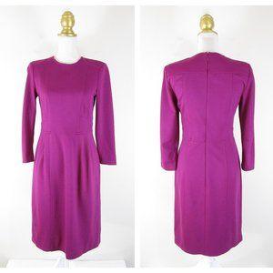 Nanette Lepore Magenta Pink Rabat Ponte Dress 6